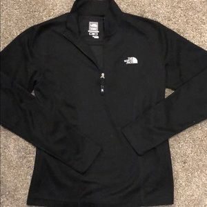 North Face black lightweight pullover size small